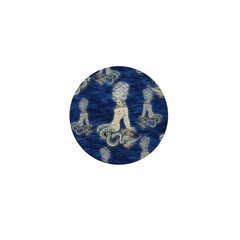 Little Rococo mermaid Mini Button (100 pack)