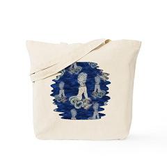 Little Rococo mermaid Tote Bag