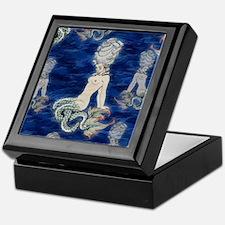 Little Rococo mermaid Keepsake Box