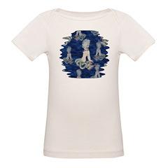 Little Rococo mermaid Organic Baby T-Shirt