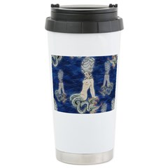 Little Rococo mermaid Travel Mug