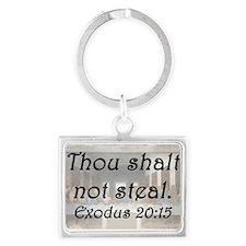 Exodus 20:15 Keychains
