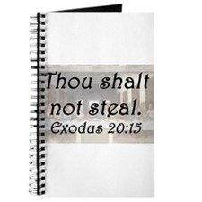 Exodus 20:15 Journal