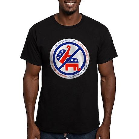 Stop Breeding Hate Black T-Shirt