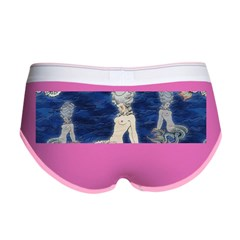 Little Rococo mermaid Women's Boy Brief