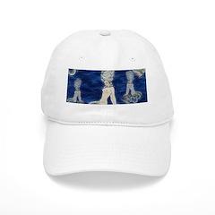 Little Rococo mermaid Baseball Cap
