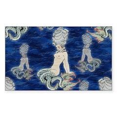 Little Rococo mermaid Decal