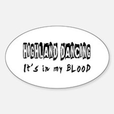Highland Dancing dance Designs Decal