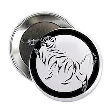 """New Shotokan Tiger 2.25"""" Button"""
