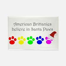 American Brittanies Believe Rectangle Magnet (100