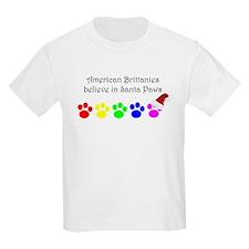 American Brittanies Believe Kids T-Shirt