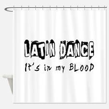 Latin Dance dance Designs Shower Curtain