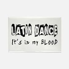 Latin Dance dance Designs Rectangle Magnet
