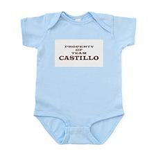 Property of team Castillo Infant Bodysuit