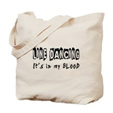 Line Dancing dance Designs Tote Bag
