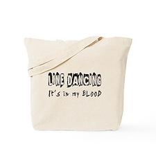 Line Dancing dance Designs Tote Bag