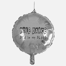 Pole Dance dance Designs Balloon