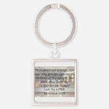 Leviticus 19:18 Keychains