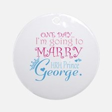 Marry Prince George Ornament (Round)