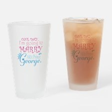 Marry Prince George Drinking Glass
