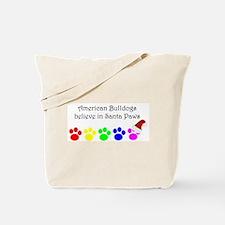 American Bulldogs Believe Tote Bag