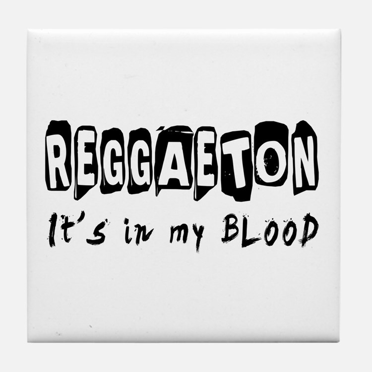 Reggaeton dance Designs Tile Coaster