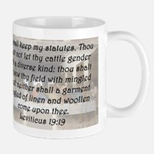 Leviticus 19:19 Mug