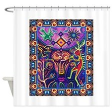 Huichol Dreamtime Shower Curtain