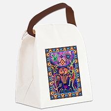 Huichol Dreamtime Canvas Lunch Bag