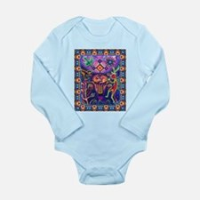 Huichol Dreamtime Long Sleeve Infant Bodysuit