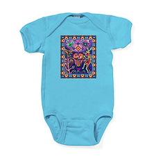 Huichol Dreamtime Baby Bodysuit