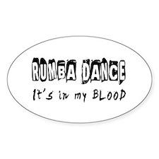Rumba Dance dance Designs Decal