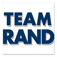 "TEAM RAND Square Car Magnet 3"" x 3"""