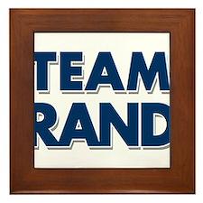 TEAM RAND Framed Tile