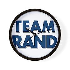 TEAM RAND Wall Clock