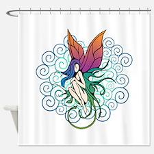 Tree Fairy Shower Curtain