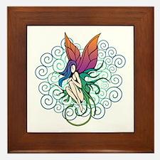 Tree Fairy Framed Tile