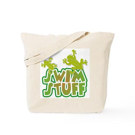Froggy Swim Stuff Tote Bag