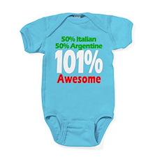 Italian - Argentine Baby Bodysuit