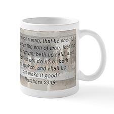 Numbers 23:19 Mug