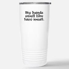 Taco Meet (in black) Travel Mug