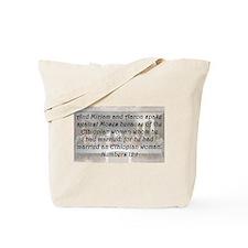 Numbers 12:1 Tote Bag