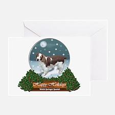 Welsh Springer Spaniel Greeting Card