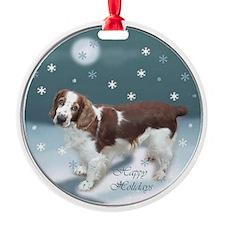 Welsh Springer Spaniel Ornament