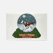 Welsh Springer Spaniel Rectangle Magnet (100 pack)