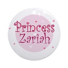 Zariah Ornament (Round)