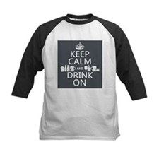 Keep Calm and Drink On Baseball Jersey