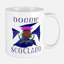 Bonnie Scotland flag design Small Mug