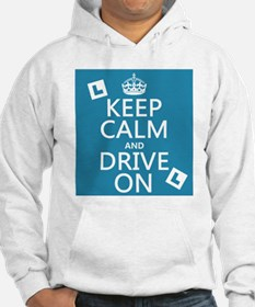 Keep Calm and Drive On Jumper Hoody