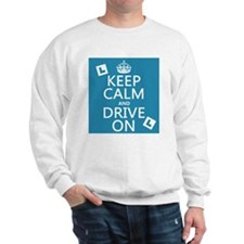 Keep Calm and Drive On Jumper